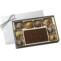 6 oz. Chocolate Truffle Gift Box , Kosher