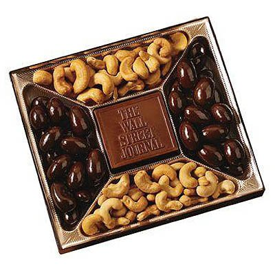 Window Gift Box w/ Chocolate Centerpiece
