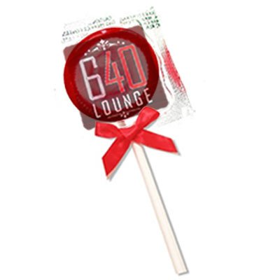 Full Color Clear Label Condom Pops - Custom Condoms Brand