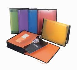 Plastic Expandable Pocket Folders - 13 x 9.75