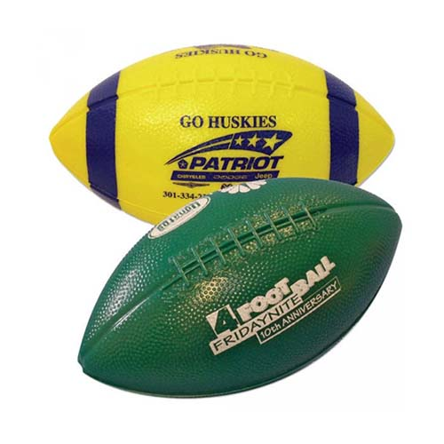 Mini Plastic Footballs, 6""