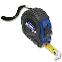 12' Tape Rubber Sleeve Tape Measures
