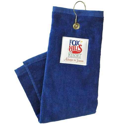 "18"" x 15"" Plush Velour Golf Towels"