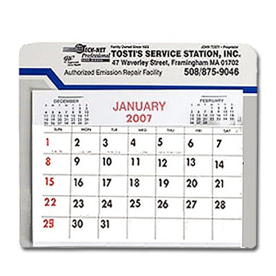 Visor Calendars, Car/Truck, 260 Series