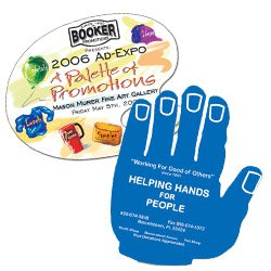 Stickless Hand Fans - Assorted Shapes