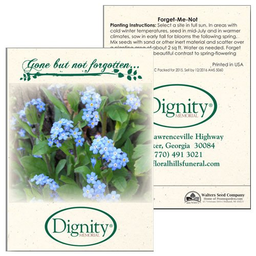 Forget-Me-Not Flower Seed Packets