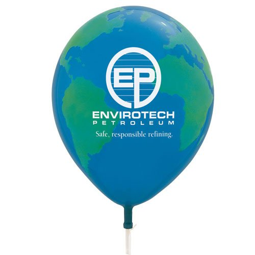 Globe Qualatex Balloons - 11""