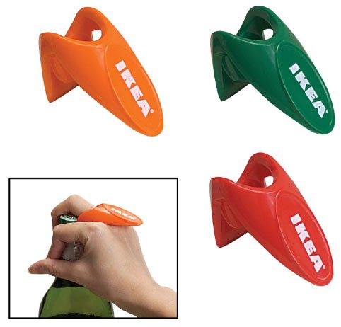 Plastic Finger Ring Bottle Openers