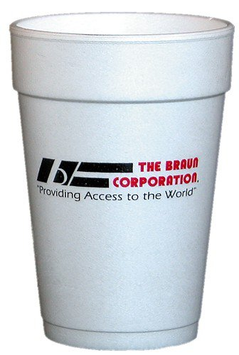 10000 Custom 16 oz. Styrofoam Cups, High Quantity  HL92ST