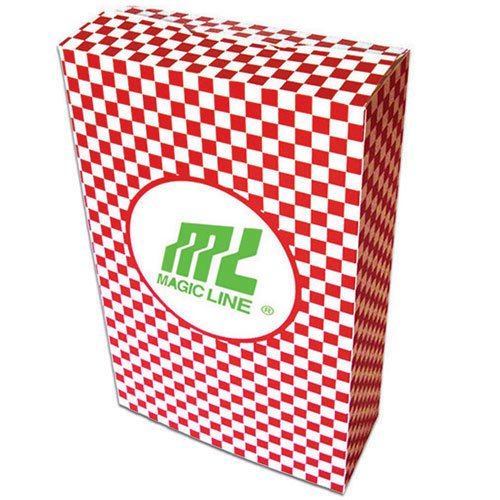 5 x 8 Checkered Closed Top Popcorn Boxes