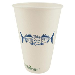 16 oz. Biodegradable Paper Cups