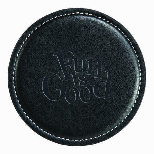 Leather Coasters - Achiever
