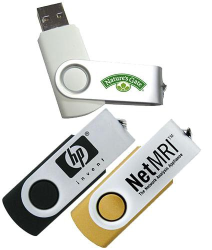 4GB Swing USB Flash Drives