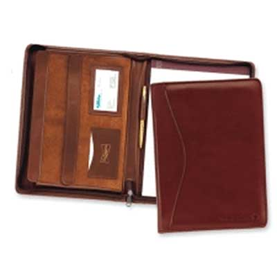The Texan Leather Padfolio