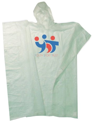 Regular Weight Youth Rain Ponchos - Low Minimum