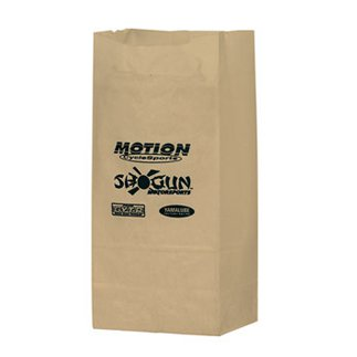 5 x 9.5 Natural Kraft Paper Grocery Bags