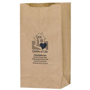 6 x 14 Natural Kraft Paper Grocery Bags