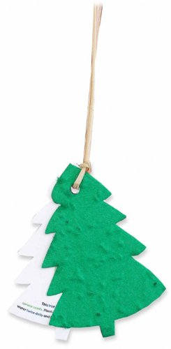 Two-Part Plantable Tree Ornament