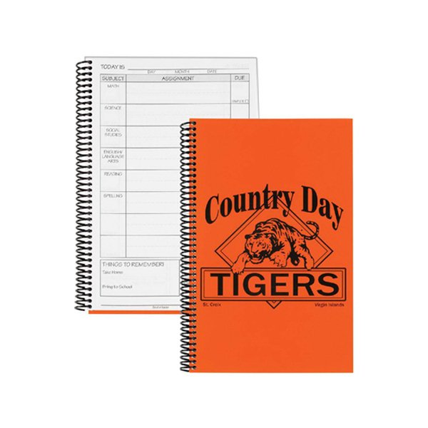 Daily Assignment Notebooks, Spiral Bound