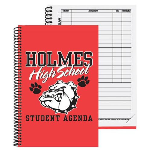 Weekly Assignment Notebooks, Spiral Bound