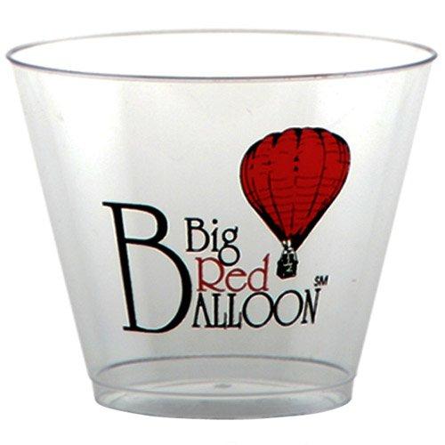 100 Custom 9 oz. Short Classic Crystal® Plastic Cups AS37LN