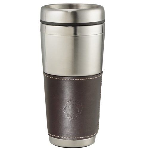 16 oz. Cutter & Buck American Classic Leather Tumbler
