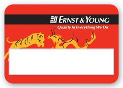 "2.25"" x 3.25"" Full Color Window Name Badges"