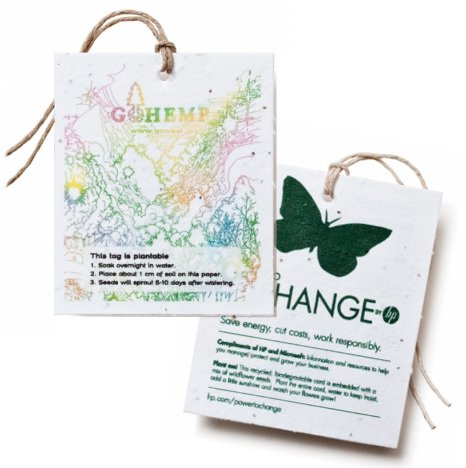 Plantable Paper Hang Tags