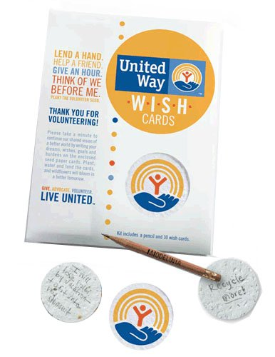 Plantable Seed Paper Wish Kits