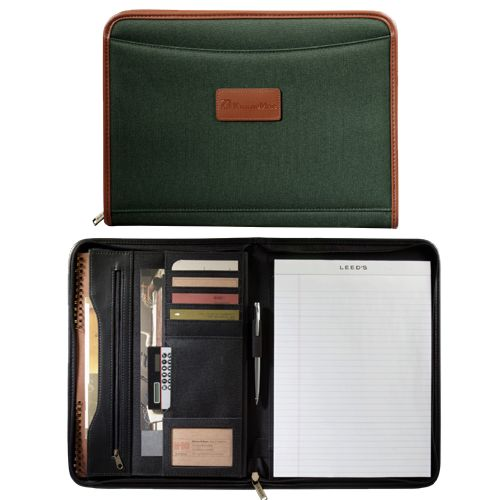 Northwest Zippered Padfolio