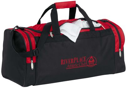 Color Accent Club Duffle Bag