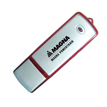 4GB Aluminum Cover USB Flash Drives - Write Protection Switch