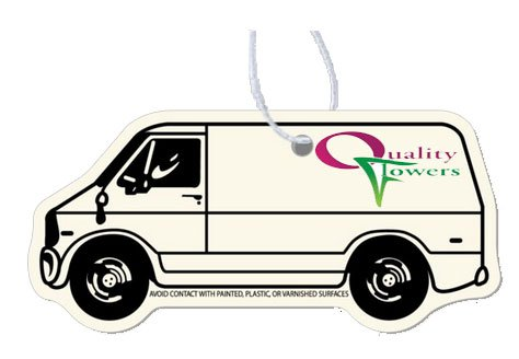 Air Fresheners - Delivery Van Shape