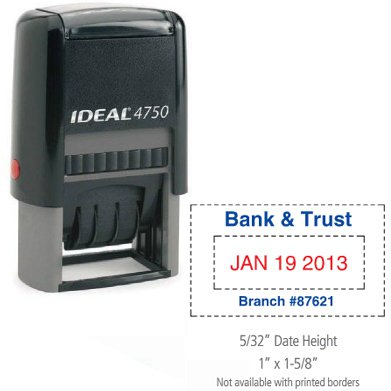 Ideal Self-Inking Economy Daters