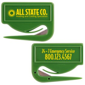 Corn Plastic Letter Openers, Zippy Direct Imprint