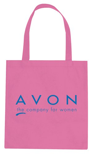 15 x 16 Pink Non-Woven Promotional Tote Bags