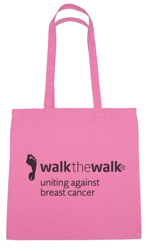 Pink Cotton Tote Bags
