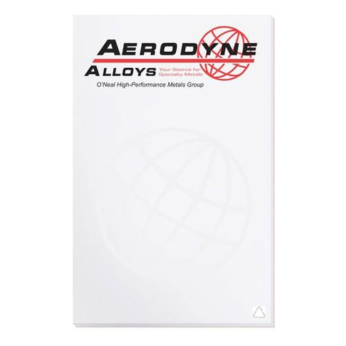 "5.37"" x 8.37"" Recycled Notepads - 50 Sheets"