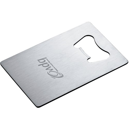 Credit Card Bottle Openers, Stainless Steel