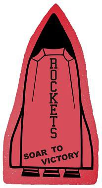 Rocket Ship Foam Hand Mitts