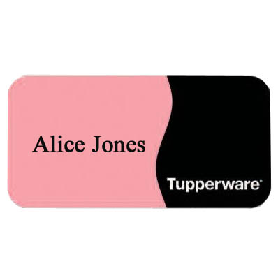 "Deluxe Name Badges, 1-3/8"" x 2-3/4"""