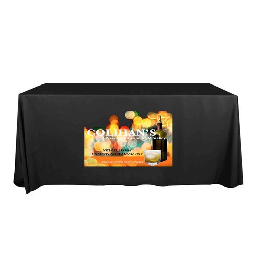 8' Plastic Disposable Table Covers
