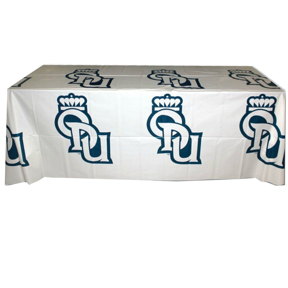 4' Disposable Plastic Table Covers - Step & Repeat Design