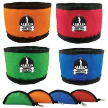 Portable Zip-A-Bowl Pet Bowls