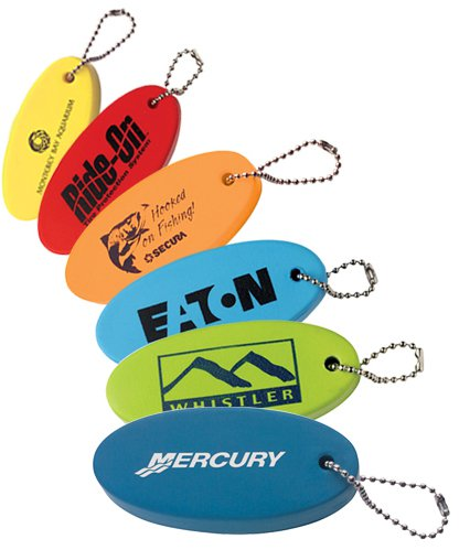 Oval Floating Keychains