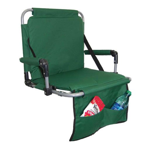 Folding Stadium Seats w/ Metal Frame & Shoulder Straps
