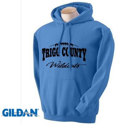 Gildan Hooded Sweatshirts, 50/50 Heavyweight