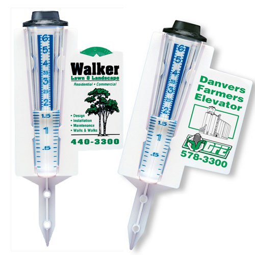 "Green Wave Plastic Rain Gauges, 6"" Cone"