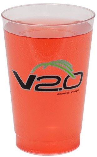 100 Custom 12 oz. Plastic Cups 6421