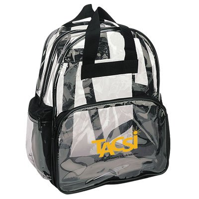Clear Vinyl Backpacks